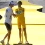 La incomodidad de quedar tercero. Tour de Francia; Contador, Schleck y Armstrong