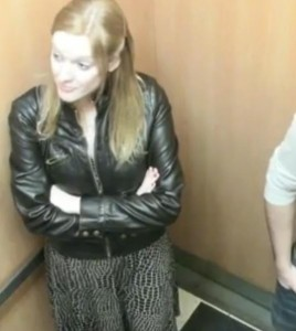Ligar en el ascensor1