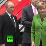 Putin y Merkel; distintas maneras de actuar frente a la amenaza
