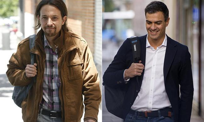 Nuevos candidatos; Pedro Sánchez y Pablo Iglesias
