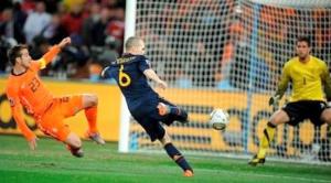 Iniesta y el gol que convirtió a España en campeona del mundo de fútbol